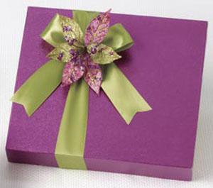 18pc_Joyous Colors Boxed Holiday Truffles