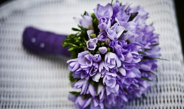 Wedding Planning Flowers, Event Planning Washington DC, Purple Bouquet