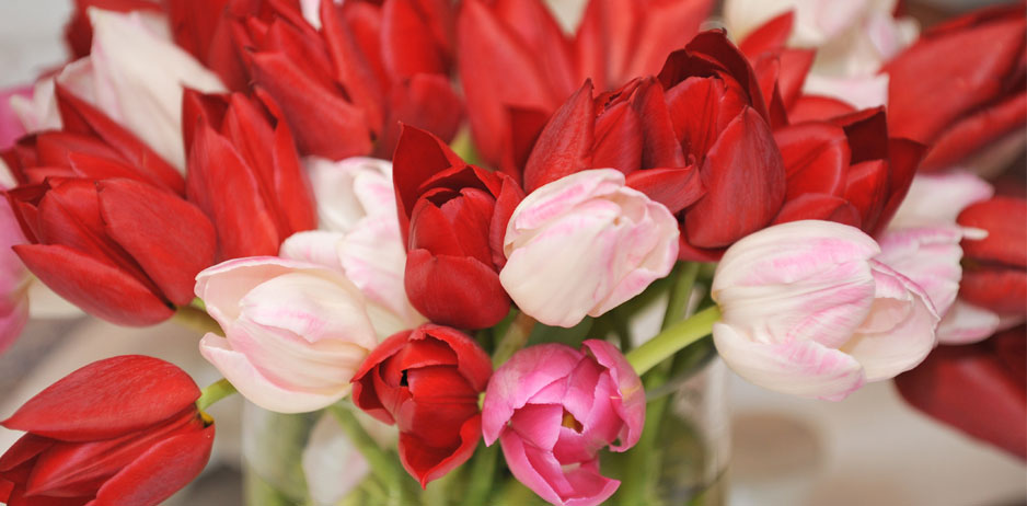 Event Flowers for special events, centerpiece, tulips, event planning flowers