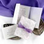 White-lavendar Invitation CBD Events Washington