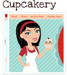 Cupcakery Template from Simply Chic Blog Boutique
