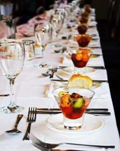 Table Setting Event Planning